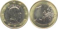 1 Euro 2007 Monaco Fürst Albert bankfrisch
