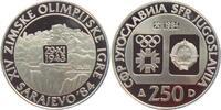 250 Dinar 1984 Jugoslawien Olympische Spie...