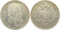 5 Mark 1907 F Württemberg Wilhelm II. Köni...