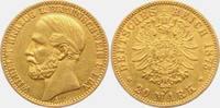 20 Mark 1875 A Braunschweig Wilhelm (1831-...