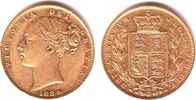 1 Sovereign 1884 M Australien Queeen Victo...