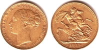 1 Sovereign 1879 M Australien Queeen Victo...