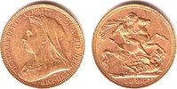 1 Sovereign 1894 M Australien Queeen Victo...