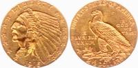2 1/2 Dollar 1915 USA - Vereinigte Staaten...