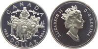1 Dollar 1994 Kanada Schlittenhunde - Cana...