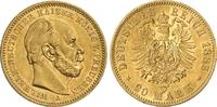 20 Mark 1885 A Preussen Kaiser Wilhelm I. vz