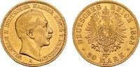 Preussen 20 Mark Kaiser Wilhelm II. - kleiner Adler