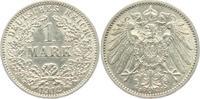 1 Mark 1912 J Kaiserreich 1 Mark - großer ...