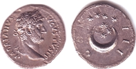 AR-Denar 125/128 Römische Kaiserzeit Hadri...