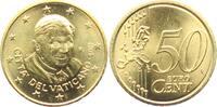 50 Cents 2011 Vatikan Papst Benedikt XVI. ...