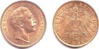 20 Mark 1908 A Preussen Kaiser Wilhelm II. vz
