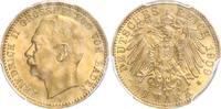 10 Mark 1909 G Baden Friedrich II.(1907-19...