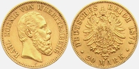 20 Mark 1874 F Württemberg König Karl von Württemberg (1864-1891) ss  445,00 EUR  +  9,95 EUR shipping