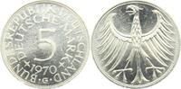 5 Mark 1970 G BRD Silberadler prägefrisch  9,95 EUR  +  3,95 EUR shipping