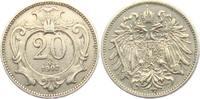 20 Heller 1907 Österreich - Ungarn Franz Joseph I. (1848 - 1916) ss-vz ... 8,00 EUR  +  3,95 EUR shipping