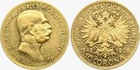 10 Kronen/ Corona 1908 Österreich 60.jähri...