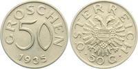 50 Groschen 1935 Österreich  vz-st  10,00 EUR  +  3,95 EUR shipping