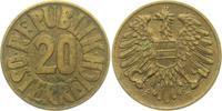 20 Groschen 1954 Österreich  vz  4,00 EUR  +  3,95 EUR shipping