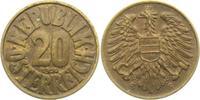 20 Groschen 1950 Österreich  vz min. Kr.  5,00 EUR  +  3,95 EUR shipping