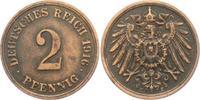 2 Pfennig 1916 E Kaiserreich 2 Pfennig - großer Adler ss-vz  3,95 EUR  +  3,95 EUR shipping