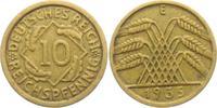 10 Reichspfennig 1935 E Weimarer Republik 10 Reichspfennig - Ährenbünde... 4,00 EUR  +  3,95 EUR shipping