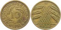 10 Reichspfennig 1934 A Weimarer Republik 10 Reichspfennig - Ährenbünde... 5,95 EUR  +  3,95 EUR shipping