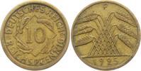 10 Reichspfennig 1925 F Weimarer Republik 10 Reichspfennig - Ährenbünde... 2,95 EUR  +  3,95 EUR shipping