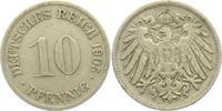 10 Pfennig 1905 D Kaiserreich 10 Pfennig - großer Adler ss  4,00 EUR  +  3,95 EUR shipping