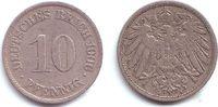 10 Pfennig 1906 A Kaiserreich 10 Pfennig - großer Adler ss+  1,95 EUR  +  3,95 EUR shipping
