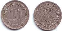 10 Pfennig 1915 J Kaiserreich 10 Pfennig - großer Adler vz  1,95 EUR  +  3,95 EUR shipping