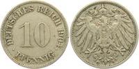 10 Pfennig 1904 G Kaiserreich 10 Pfennig - großer Adler ss  4,95 EUR  +  3,95 EUR shipping