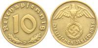 10 Reichspfennig 1938 D Drittes Reich 10 Reichspfennig - mit Hakenkreuz... 3,95 EUR  +  3,95 EUR shipping