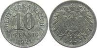 10 Pfennig 1921 Ersatzmünzen des 1. Weltkrieges 10 Pfennig f.vz  2,95 EUR  +  3,95 EUR shipping