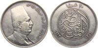 20 Piaster 1923 Ägypten Fuad I. (1917 - 19...