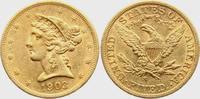 5 Dollar 1903 S USA Liberty - Eagle ss/vz