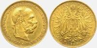 20 Kronen/Corona 1893 Österreich Kaiser Fr...