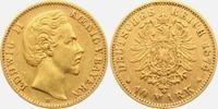 10 Mark 1874 D Bayern König Ludwig II. von...