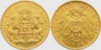 20 Mark 1897 J Hamburg Hamburger Stadtwappen ss/vz  328,00 EUR  plus 9,95 EUR verzending