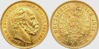 20 Mark 1875 A Preussen Kaiser Wilhelm I. vz/Kr.  325,00 EUR  plus 9,95 EUR verzending