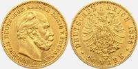 20 Mark 1886 A Preussen Kaiser Wilhelm I. vz/Rf.  318,00 EUR  plus 9,95 EUR verzending
