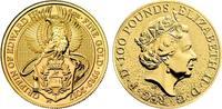 100 Pound 2016 Großbritannien The Queen`s ...