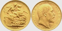 Sovereign 1906 M Australien Edward VII. vz