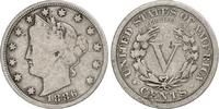 5 Cents 1886 USA Liberty Head (1883-1913) ...