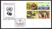 1999 Österreich Erstagsbrief - Gefährdete Tierwelt - Vereinte Nationen... 2,95 EUR  +  3,95 EUR shipping