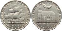 1/2 Dollar 1936 USA Delaware vz/st