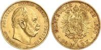 10 Mark 1880 A Preussen Kaiser Wilhelm I. ...