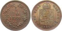 5/10 Kraiczer 1882 K.B. Österreich/Ungarn ...
