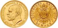 20 Mark 1905 A Mecklenburg-Strelitz Adolf ...
