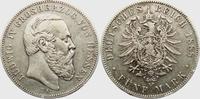5 Mark 1888 A Hessen Ludwig IV.(1877-1892) ss