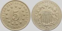 5 Cent 1872 USA Shield (1866-1883) vz